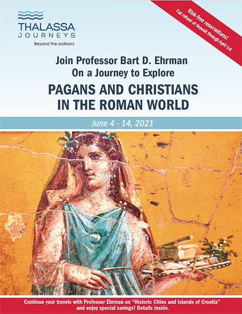 Pagans & Christians in the Roman World – Thalassa Journeys